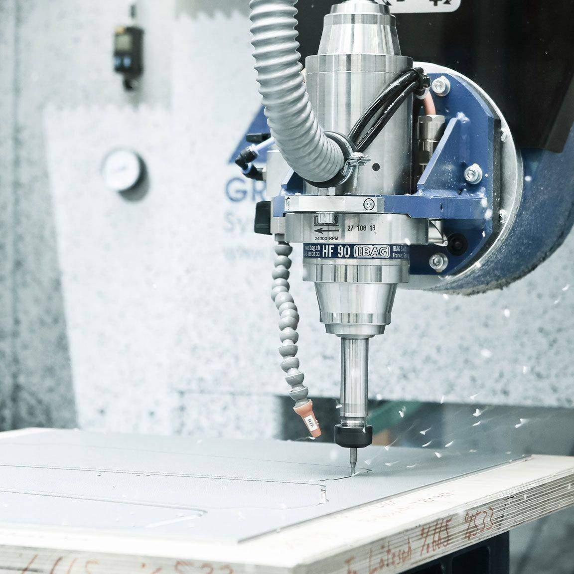 , CNC-Kunststoffbearbeitung